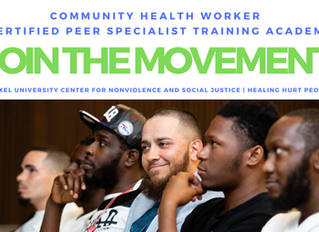 Apply for Community Health Worker Certified Peer Specialist Training Academy
