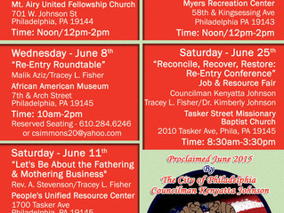 Gateway to Reentry: Reentry Awareness Month Kick-Off Event June 1st!