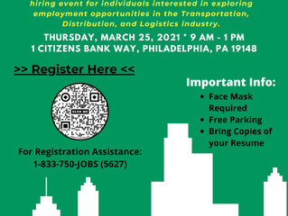 Register Now for Philadelphia Works Career Fair at Citizens Bank Park - March 25th