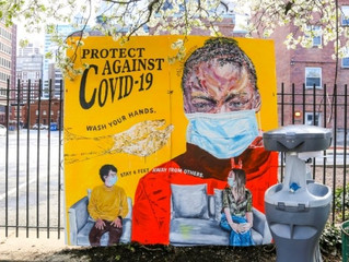 Broad Street Ministry Installs Portable Hand-Washing Stations and Murals Throughout Philly