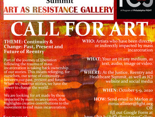 ICJ Seeking Submissions for Art As Resistance Gallery Made by People Impacted by Mass Incarceration