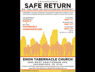 Philadelphia Safe Return