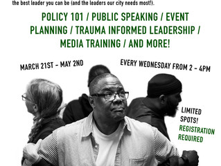 Calling all Returning Citizens: Free Leadership Trainings Designed by Those in Reentry, For Those in