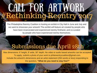 #RethinkingReentry Call for Artwork