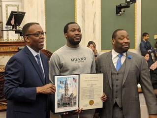 City Council honors Meek Mill