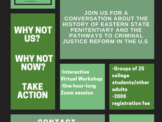Eastern State Penitentiary and PAR Recycle Works Partnering for New Workshop on Justice Reform