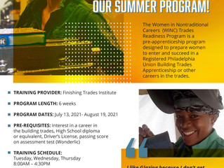 Women in Nontraditional Careers Now Recruiting for Summer Trades Readiness Program