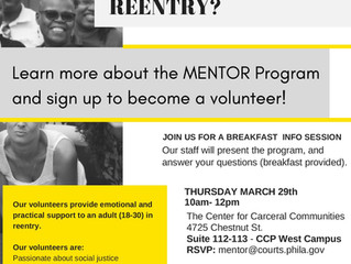 Join MENTOR for a Breakfast and Info Session