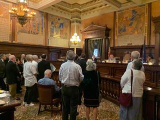 Board of Pardons Debating 9 Sentence Commutations