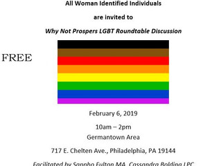 Why Not Prosper is hosting a LGBT Round-table Discussion