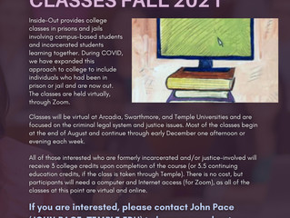 Join College Classes Fall 2021