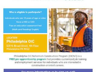 Philadelphia OIC Nehemiah Construction Program