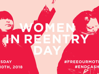 Join us for the 2nd annual Women in Reentry Day!