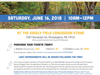 Join PowerCropsPHL this Saturday for their PowerTrek
