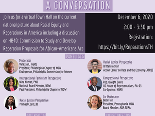 Moving Forward on Racial Equity: A Conversation - December 6th