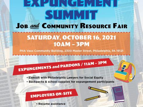 ICJ Job and Community Resource Fair! (10/16)