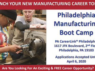 Apply for Philadelphia Manufacturing Boot Camp