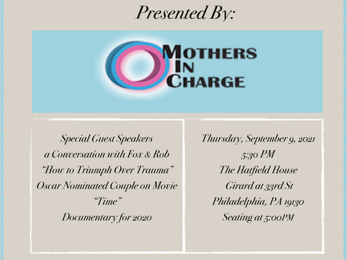 """Mothers in Charge, Inc. is Hosting a """"Women Who've Experienced Trauma"""" Breakfast (9/2)"""