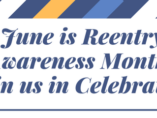 Submit Planned Reentry-focused events in June for our Reentry Awareness Month Calendar!