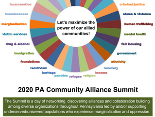 Save The Date! 2020 PA Community Alliance Summit, September 16 - 17