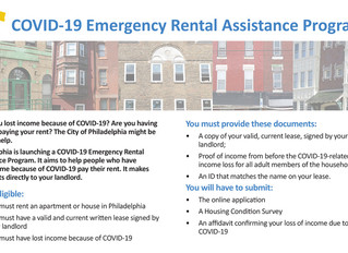 City COVID-19 Emergency Rental Assistance Program Now Matching Tenant's Rent Up to $1500
