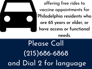 Lyft and SEPTA Provide Free Rides to COVID-19 Vaccination Appointments