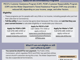 CLS Shares One Page Guide for Philadelphians Struggling to Pay Bills