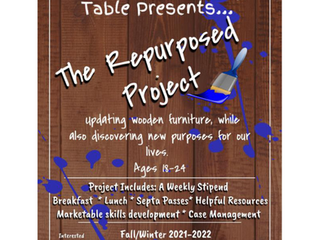 """Fruits of the Family Table Presents """"The Repurposed Project"""""""