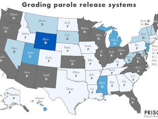 Report - Failure should not be an option: Grading the parole release systems of all 50 states