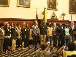 Mayor honors Restorative Justice Guild program graduates