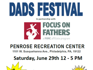 Fathers in Action Reentry Month Event: Dad's Festival