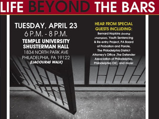 "Join the PA Legislative Black Caucus and PA Democratic Policy Committee for ""Life Beyond the Ba"