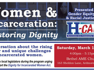 Join Ardella's House for Conversation on Women & Incarceration