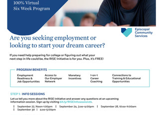Episcopal Community Services Recruiting for Free Six Week  Career Development Course