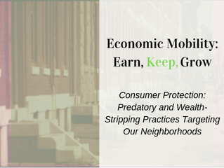 Consumer Protection Symposium Hosted by Office of Community Empowerment and Opportunity