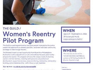 Mural Arts Guild Starting Workforce Program for Women Returning from Incarceration