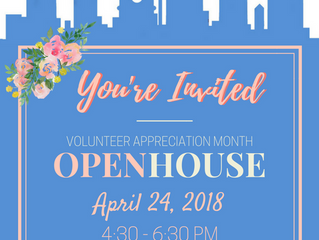Office of Adult Education Volunteer Appreciation Month Open House