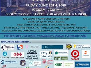 West Philly Community Job Fair - June 28th