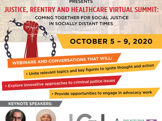 Institute for Community Justice Hosting Justice, Reentry and Healthcare Summit 2020