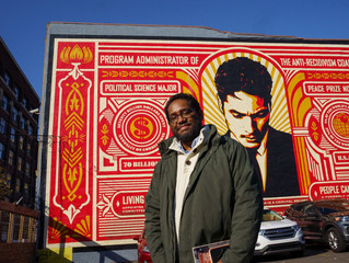 After Serving 27 Years in Prison, James Hough is the DA's New Artist in Residence