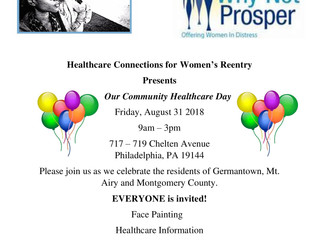Why Not Prosper hosts Community Healthcare Day