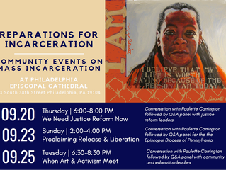 Reparations for Incarceration Community Events