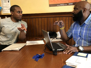 After 14 years in prison, individual fills out his first resume - and hopes