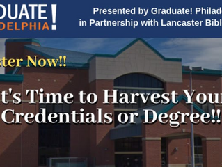 Graduate! Philadelphia Hosting Information Session for Individuals Thinking About Going Back to Scho