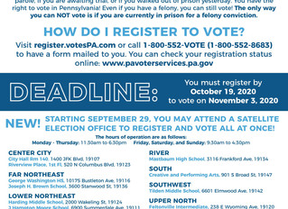 PLSE Publishes Voter Registration One Pager for People with Justice Involvement