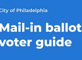 City of Philadelphia Distributing Mail-In Ballot Guides to Service Providers - Request Now