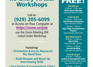 JEVS Human Services Shares Updated Schedule of Free Reentry Workshops