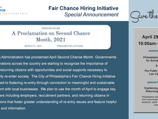 Fair Chance Hiring Hosting Second Chance Month Event, Seeking Applicants for Four Open Positions