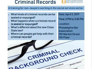 "RSVP for the ""Clean Slate 101: Sealing and Expunging Records"" event"