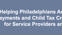 CLS Hosting Webinar on Accessing Stimulus Payments and Child Tax Credits - April 6th